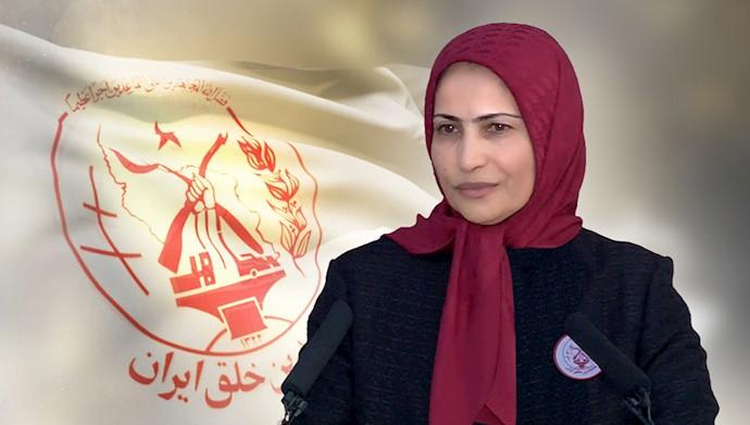 زهرا مریخی مسئول اول سازمان مجاهدین خلق ایران - شهریور۹۸