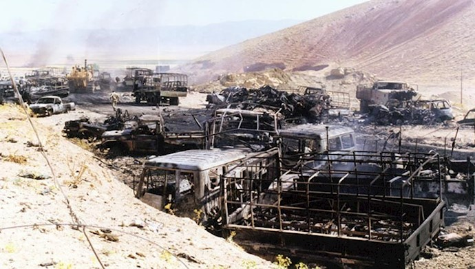 بمباران قرارگاه اشرف