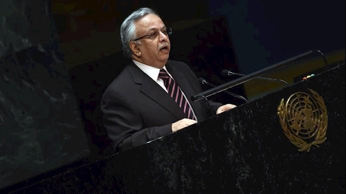 عبدالله المعلمی نماینده عربستان در سازمان ملل
