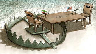 افتادن نظام در تله مذاکره