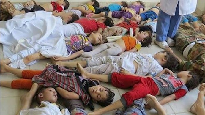 قاسم سلیمانی ـ قتلعام کودکان سوری با بشکههای انفجاری