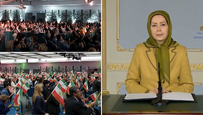 مریم رجوی - پیام به گردهمایی قیام مردم ایران برای آزادی در کالیفرنیا...