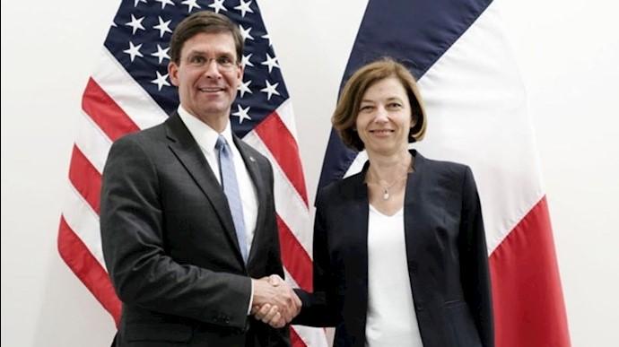 همکاری آمریکا و فرانسه برای مقابله با رژیم ایران