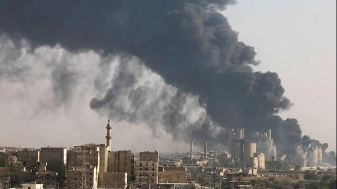 بمباران مناطق مسکونی در سوریه
