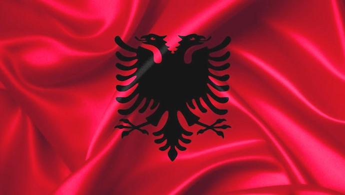 پرچم آلبانی