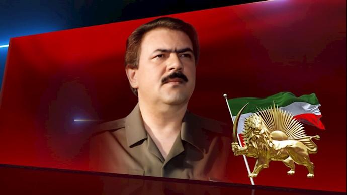مسعود رجوی رهبر مقاومت ایران