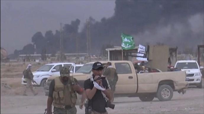 حمله هوایی به مواضع شبهنظامیان رژیم ایران در آلبوکمال