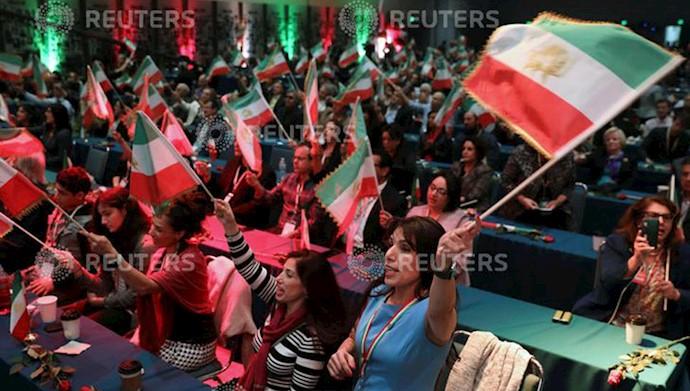 کنوانسیون ایرانیان در کالیفرنیا حمایت از قیام مردم ایران و کانونهای شورشی