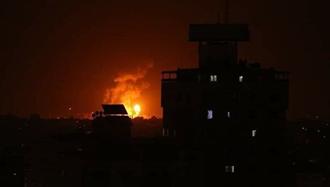 انهدام دو خودرو بسیجیان حشدالشعبی در فرودگاه بغداد