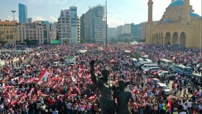 قیام مردم لبنان