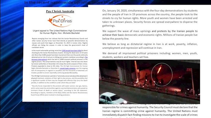 فراخوان سازمان پاکس کریستی استرالیا برای اعزام هیات حقیقتیاب بینالمللی به ایران