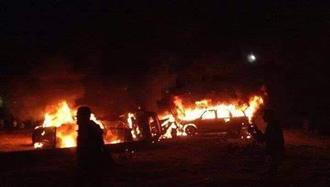 دو خودرو در منطقه تاجی عراق مورد حمله هوایی قرار گرفتند