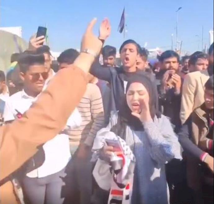نهاوند ترکی دختر دانشجو در ناصریه