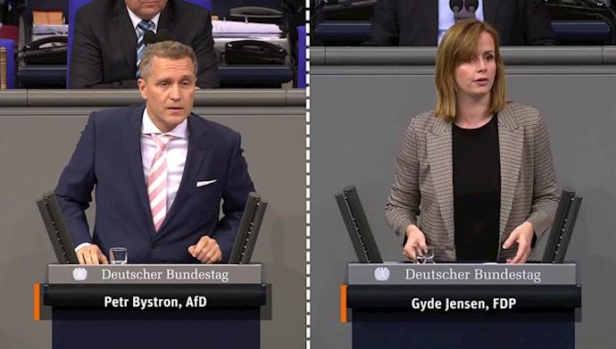 گیده یانسن رئیس کمیسیون حقوقبشر مجلس فدرال آلمان - پتر بیسترون نماینده مجلس فدرال از حزب آلترناتیو برای آلمان