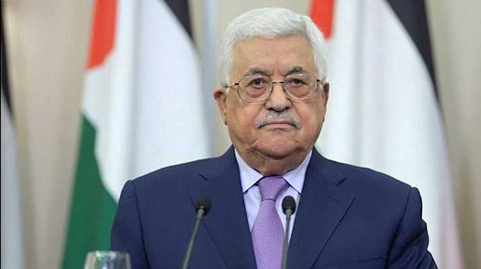 محمود عباس رهبر فلسطین
