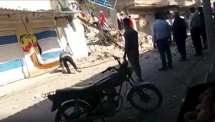 انفجار در منطقه عامری اهواز