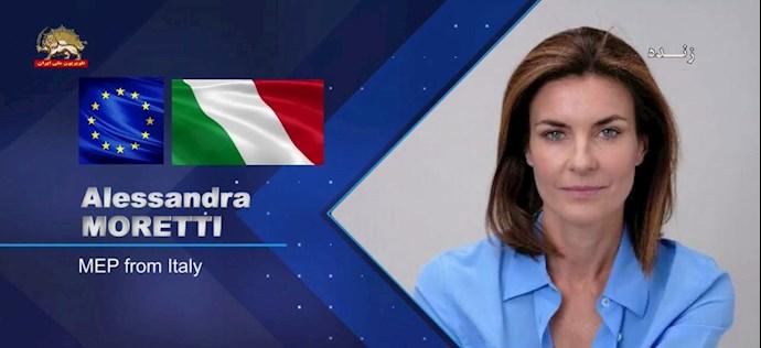 آلساندرا مورتی نماینده پارلمان اروپا از ایتالیا - 0