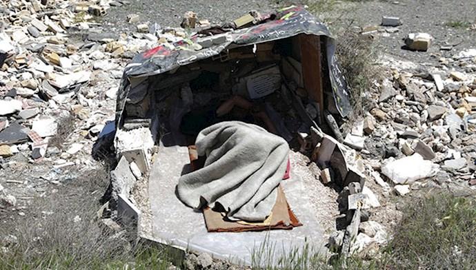 کارتن خوابی در ایران