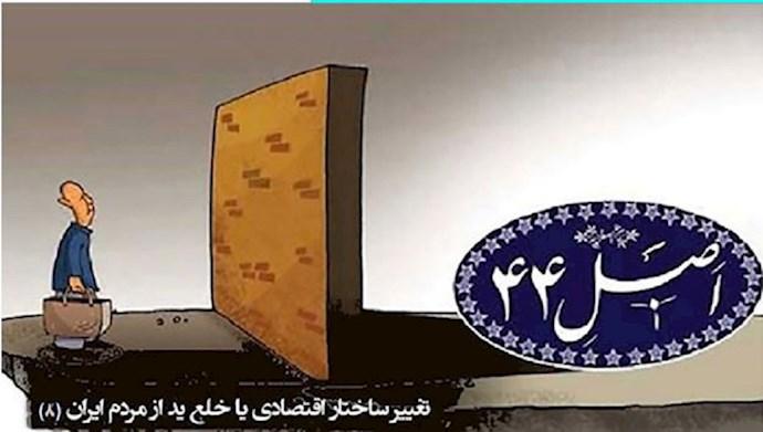 تغییر ساختار اقتصادی یا خلع ید از مردم ایران (۸)