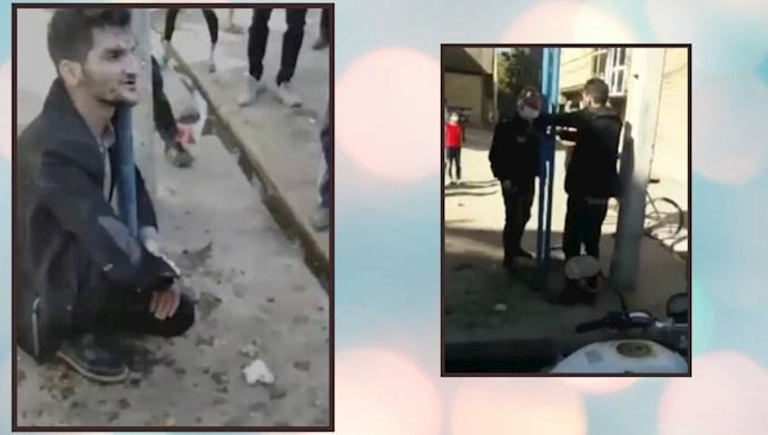 جنایت نیروی انتظامی و قتل مهرداد سپهری  در مشهد