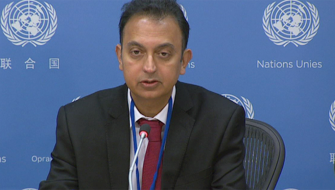 جاوید رحمان گزارشگر ويژه ملل متحد