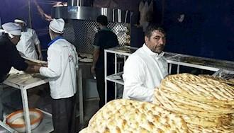 گران شدن  نان در مشهد - عکس از آرشیو