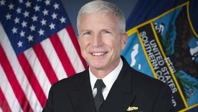 آدمیرال کریگ فالر فرماندهٔ ستاد فرماندهی جنوب آمریکا
