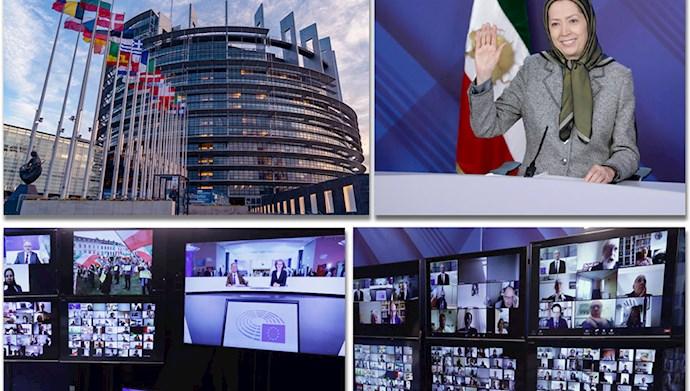 کنفرانس  ایران- استمرار جنایت علیه بشریت در پارلمان اروپا- وظایف سیاسی و اخلاقی اروپا