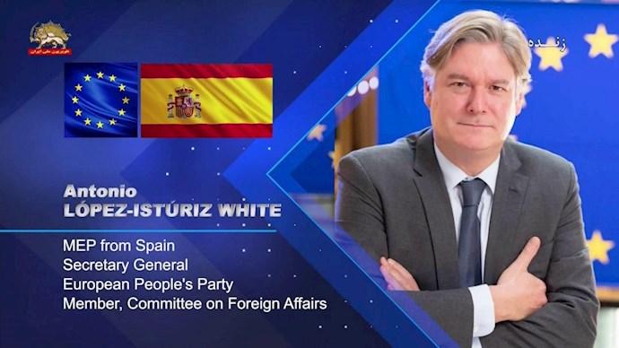 آنتونیو لوپز ایستوریس وایت ـ نماینده پارلمان اروپا دبیرکل حزب مردم اروپا از اسپانیا - 0