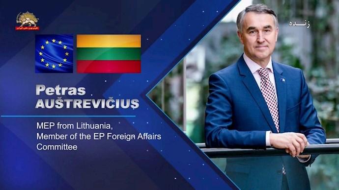 پتراس آستراویچیوس عضو کمیسیون خارجه پارلمان اروپا - 0