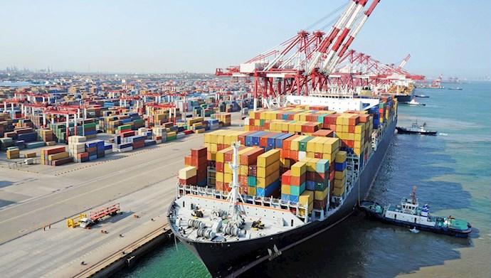 کاهش ۶۲ درصدی واردات چین از ایران