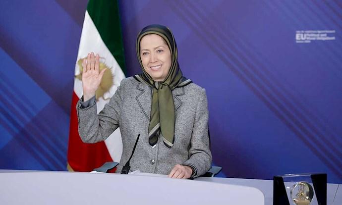 مریم رجوی رئیسجمهور برگزیده مقاومت ایران - 0