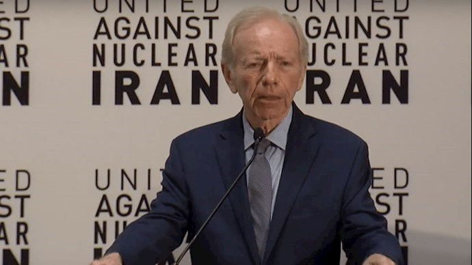 سناتور لیبرمن رئیس هیات مدیره اتحاد علیه ایران هستهای