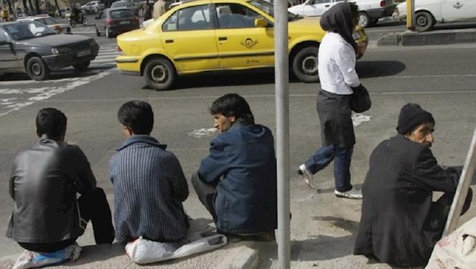 بیکاری در ایران تحت حاکمیت آخوندها