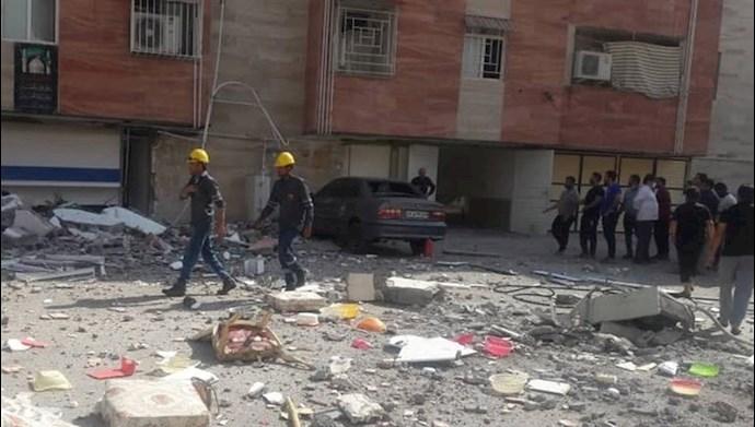 انفجار در  خانه مسکونی قائمشهر