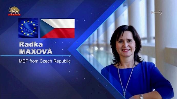 رادکا ماکسووا نماینده پارلمان اروپا از جمهوری چک - 0