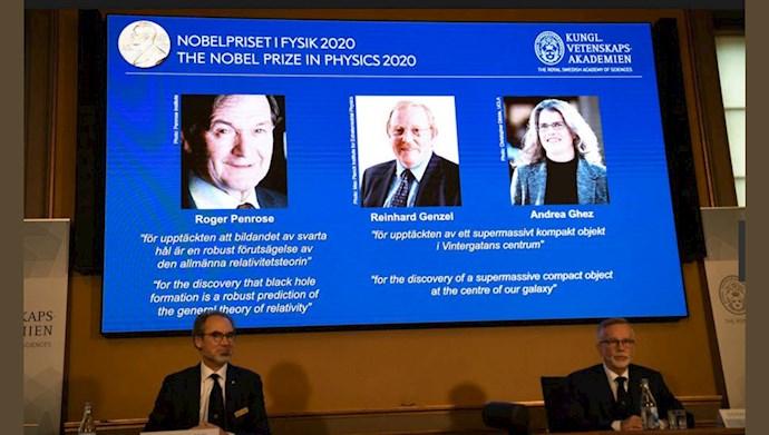 برندگان جایزه نوبل فیزیک ۲۰۲۰