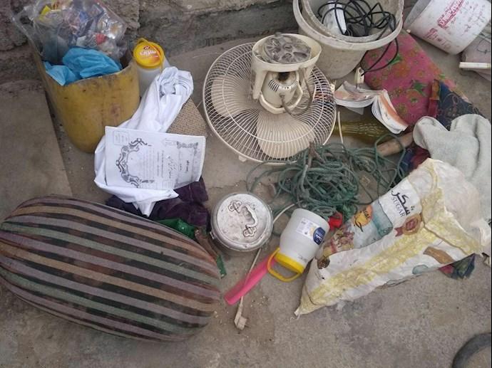 تخریب خانههای مردم در چابهار توسط پاسداران جنایتپیشه - 2