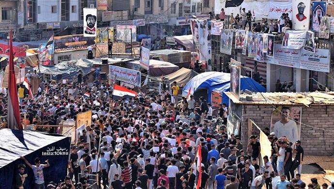 تظاهرات مردم عراق در ناصریه