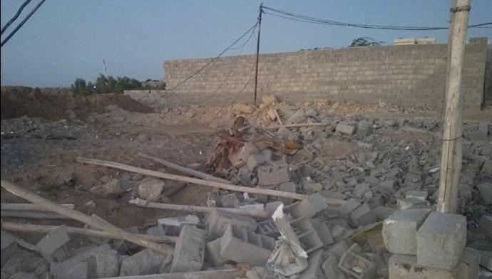 تخریب خانههای مردم چابهار