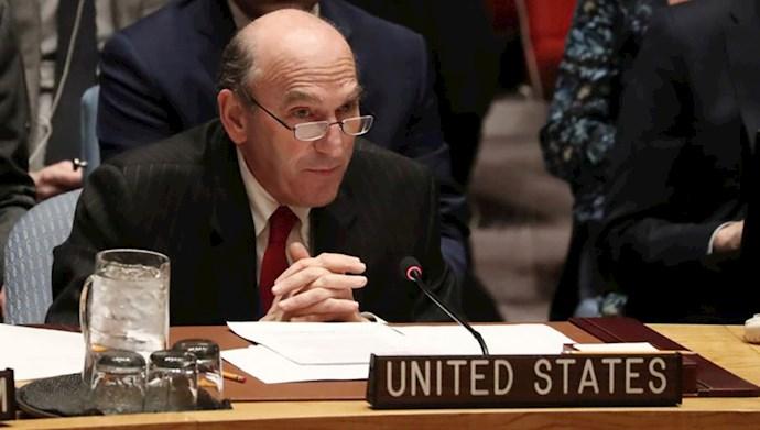 الیوت آبرامز نماینده ویژه وزارتخارجه آمریکا برای ایران