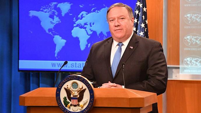 مایک پمپئو وزیر خارجه آمریکا