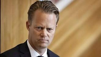 جپ کوفود وزیر امور خارجه دانمارک