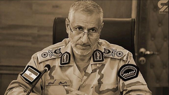 احمد علی گودرزی فرمانده مرزبانی نیروی انتظامی