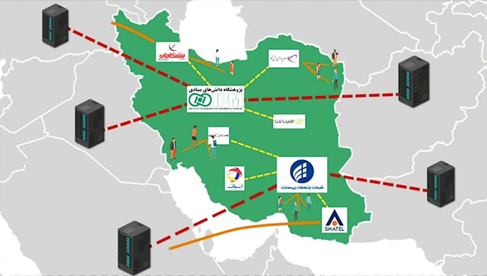 قطع کامل اینترنت در ایران در قیام آبان ۹۸