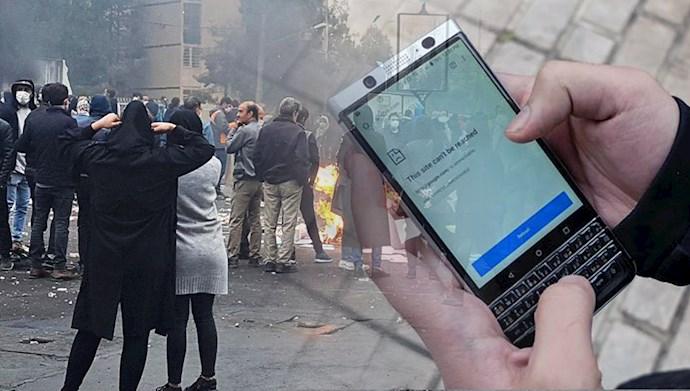 قطع اینترنت در ایران