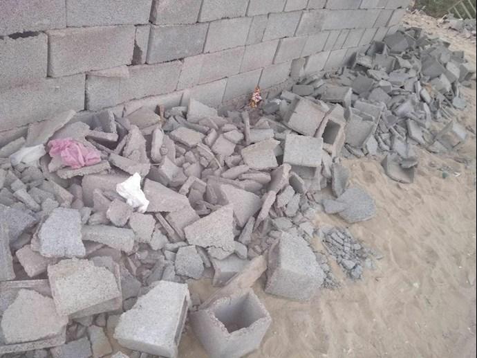 تخریب خانههای مردم در چابهار توسط پاسداران جنایتپیشه - 0