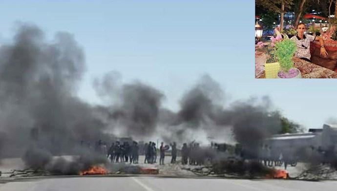 درگیری جوانان در شهرستان سیریک با مأموران سرکوبگر نیروی انتظامی