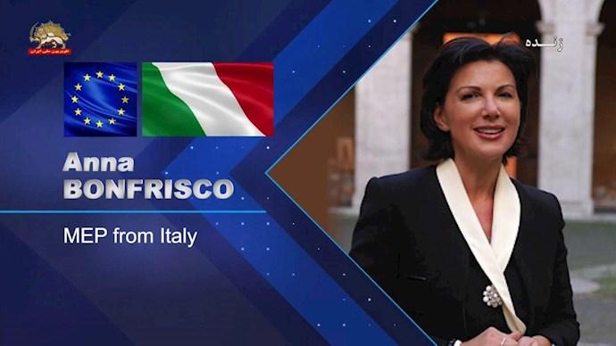 آنا بونفریسکو نماینده پارلمان اروپا از ایتالیا - 0
