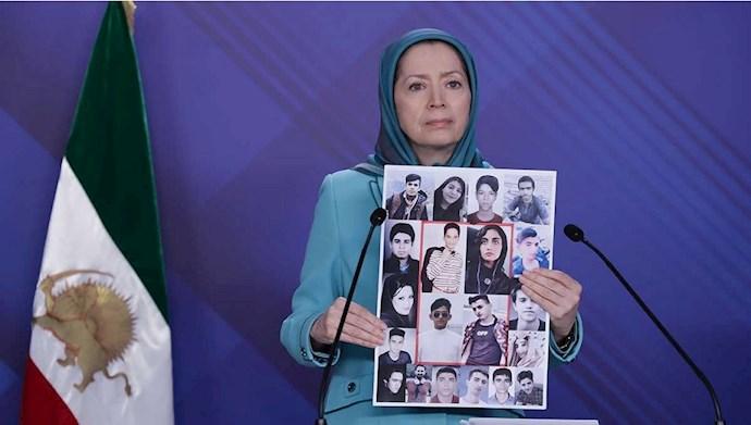 مریم رجوی - گردهمایی در برلین بهمناسبت روز جهانی علیه اعدام